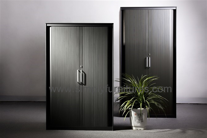 high capacity tambour door filing cabinet